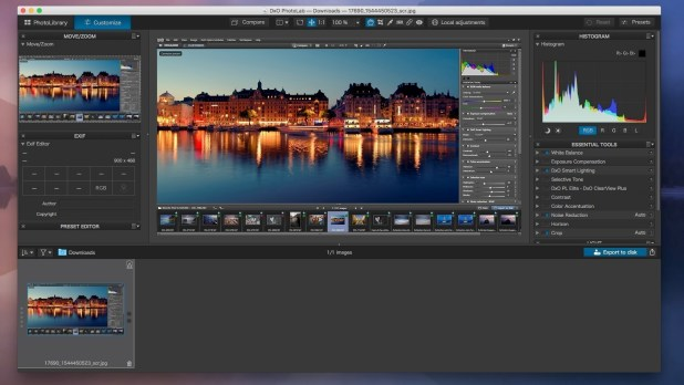 DxO PhotoLab 2.1.0 for Mac Free Download