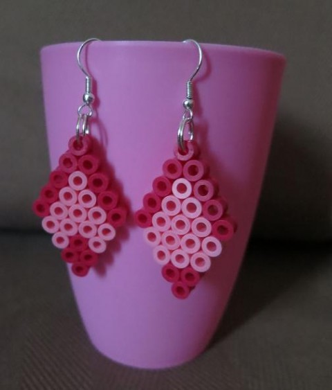 BOUCLES DOUBLE ROSE 1