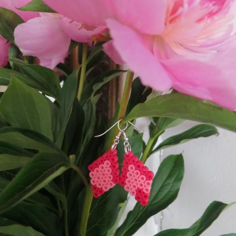 BOUCLES DOUBLE ROSE 2