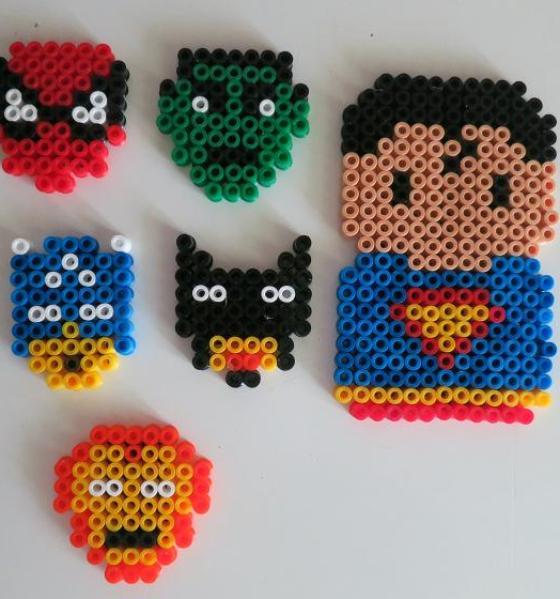 DES SUPER HEROS SUR MON FRIGO