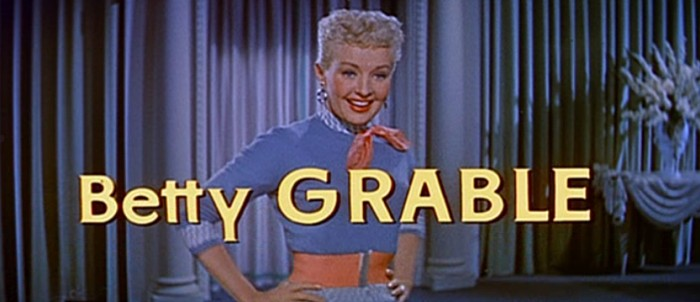 PRESENTATION BETTY GRABLE