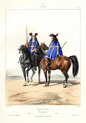 1663-Louis-XIV_-Maison-Du-Roi_-Mousquetaires