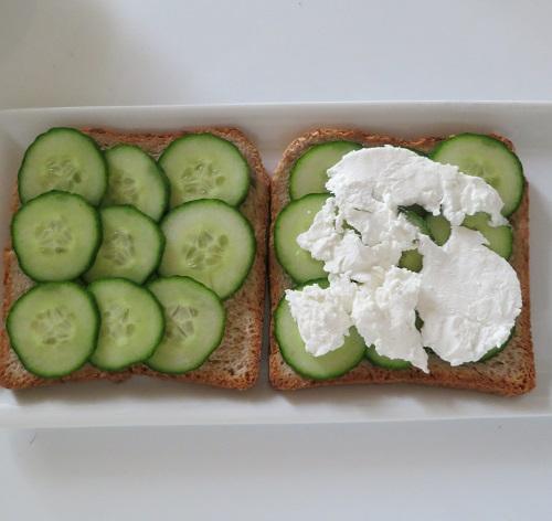 Sandwiches concombre 4