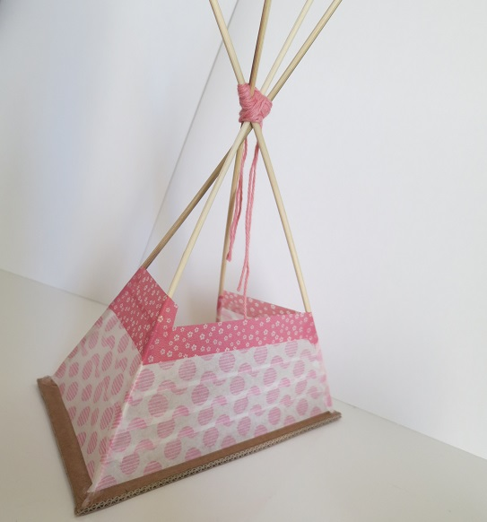 13.DIY INDIAN SIPRIT LE TIPI