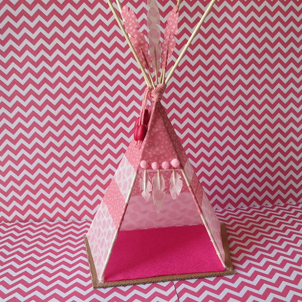 17b.DIY INDIAN SpiRIT LE TIPI