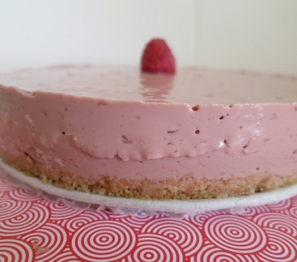 0.Mini cheesecake framboise