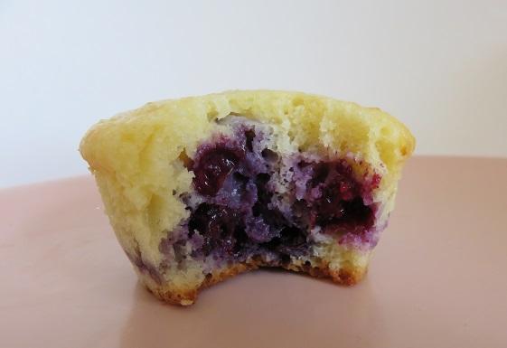 12. Muffins myrtilles citron