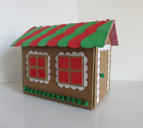 11. maison en carton