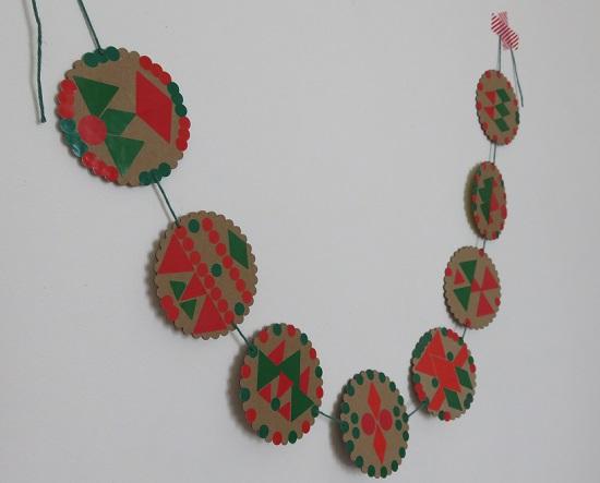 13.les guirlandes de Noël