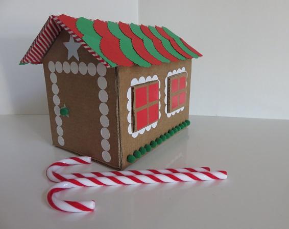15. maison en carton