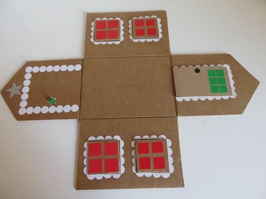 6. maison en carton