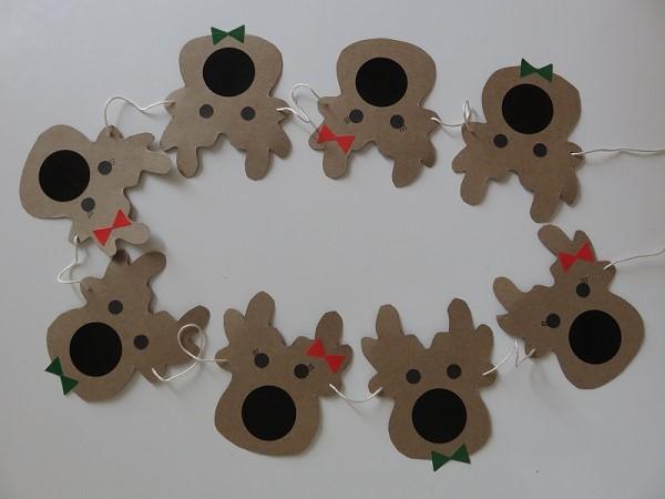 7. les guirlandes de Noël