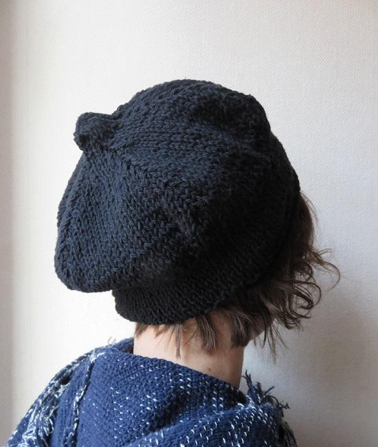 A1.bonnet bibi noir