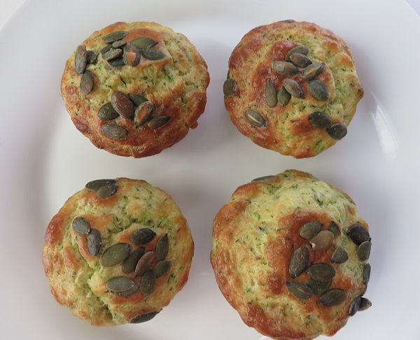 2.Muffins courgettes thym VQR