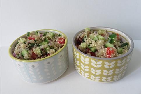 salades colorées