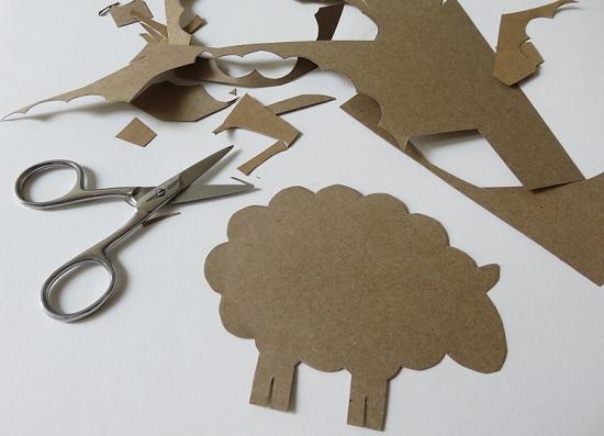 2.Des moutons dans la déco