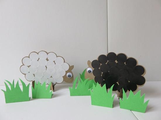 20c.Des moutons dans la déco