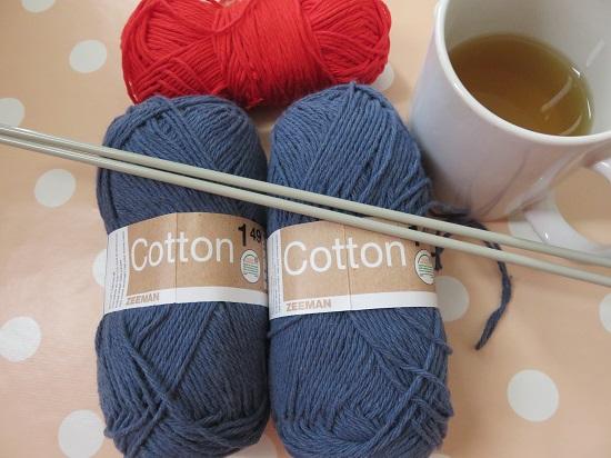 1.Sac tricoté
