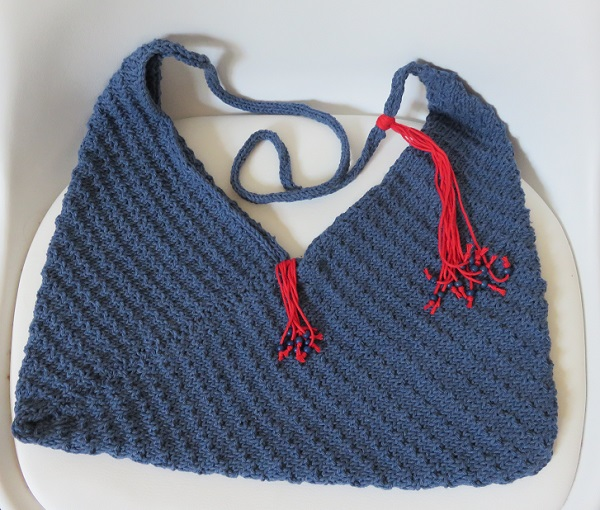 20.Sac tricoté