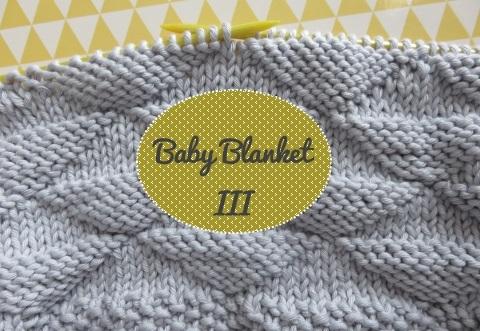 Tuto tricot couverture bebe