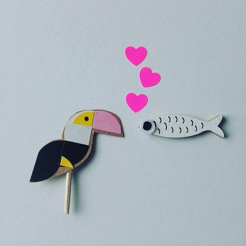 un petit poisson..