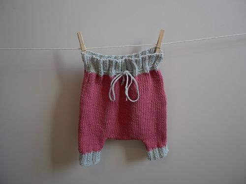 12.pantalon tricoté