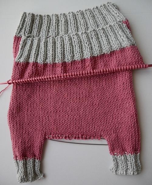 4.pantalon tricoté