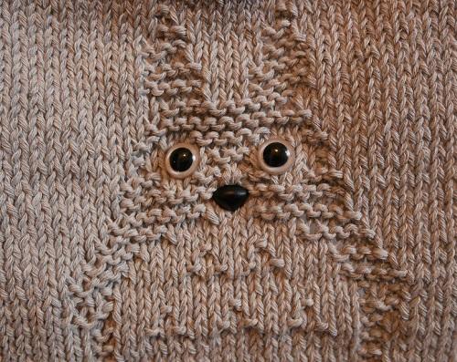 5b. DIY knitting totoro craft