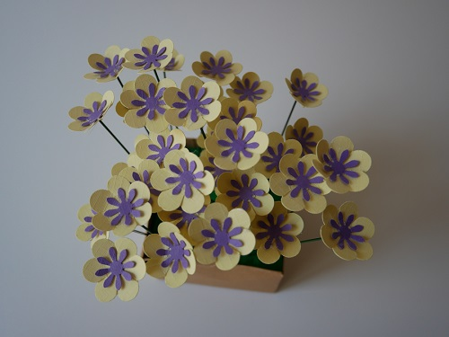5. CRAFT spring paper flowers