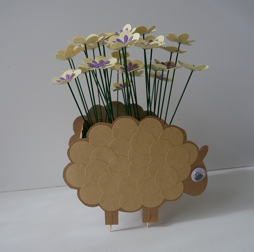 8. CRAFT spring paper flowers