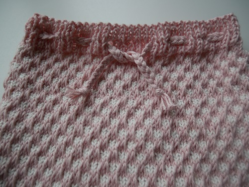 Bloomers fille au tricot 19