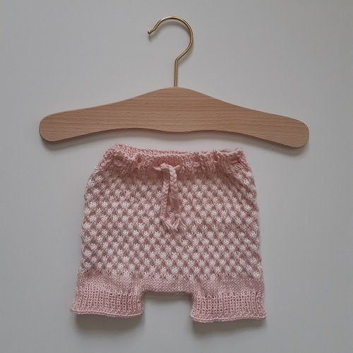 Bloomers fille au tricot 9