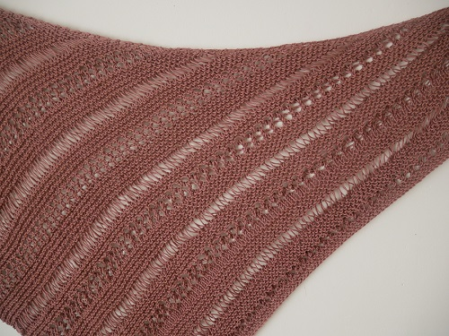 10.knitted stormy sky shawl
