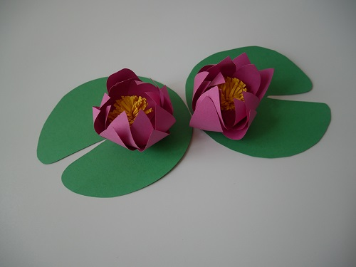 11.DIY paper lotus flower