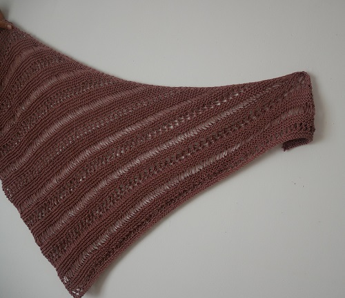 9.knitted stormy sky shawl