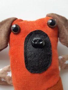 doudou chien tissu 2