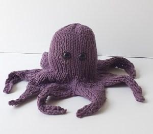pieuvre tricotée 3