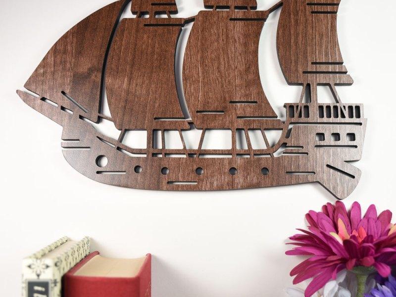 Sailing Boat Wall Art