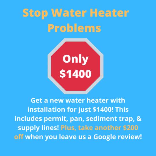 water heater repair and replacement in arlington tx