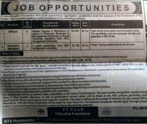 ped jobs 16