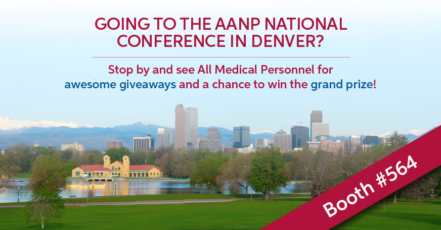 AMP Attending AANP National Conference in Denver