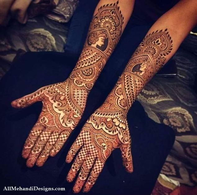 Image result for best bridal mehndi designs