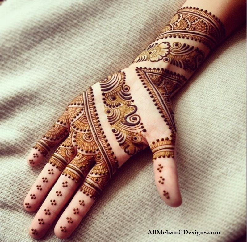 Easy Mehandi Designs Arabic Style Simple