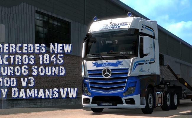 Mercedes Actros 1845 Euro6 Sound V 3 0 1 33 X Allmods Net