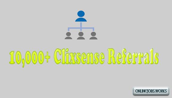 Clixsense referrals link