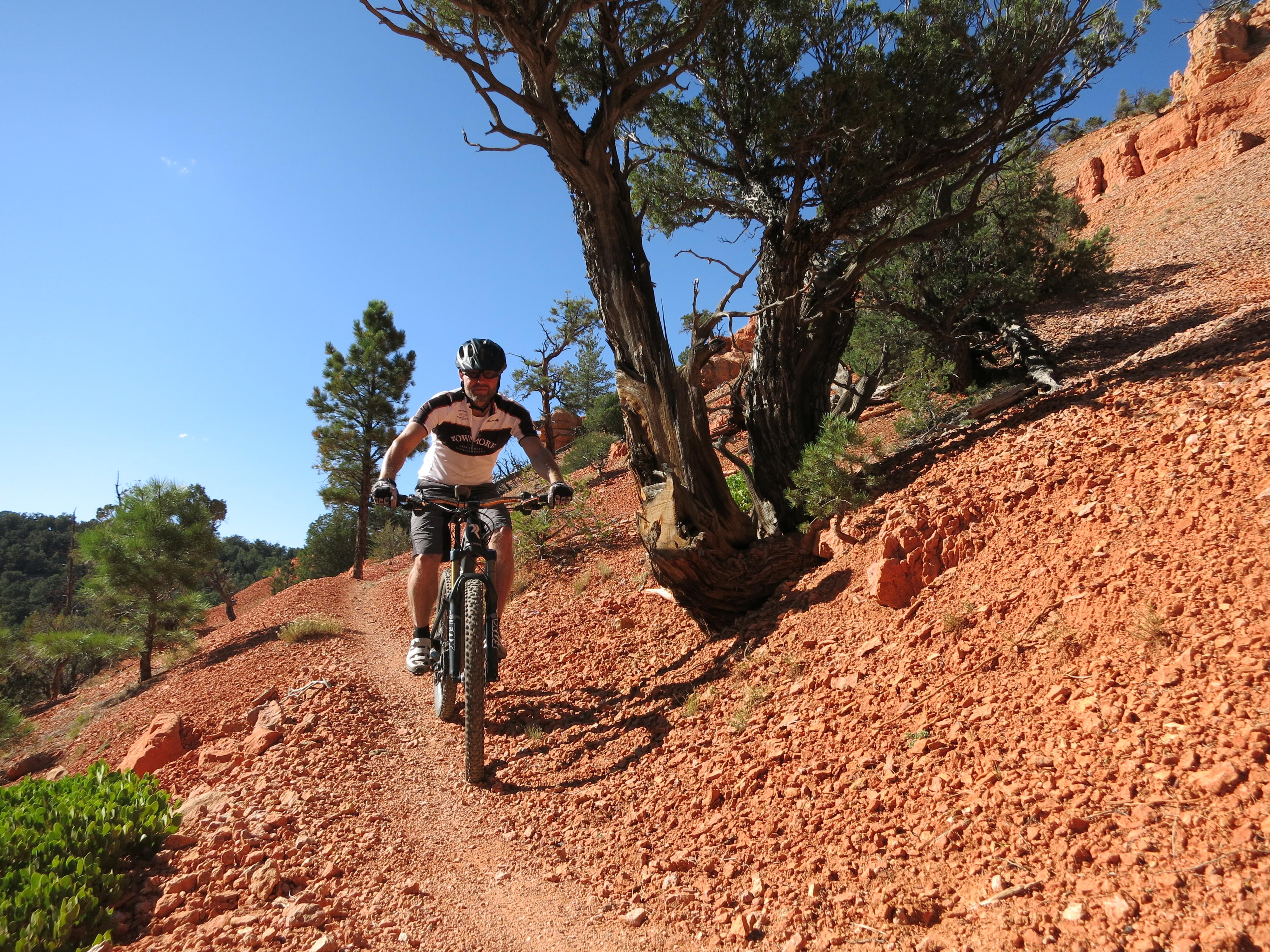 Thunder Mountain Trail Utah nearby Bryce Canyon  allmountaindingers mountain bike meccas