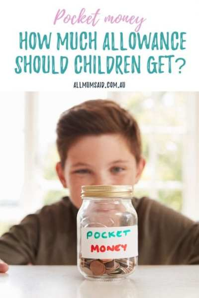 How much pocket money should children receive? Here are some great ways to find the right amount of allowance. #pocketmoney #kids #personalfinance #money