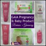 Pregnancy & Baby – Gaia Products + Giveaway
