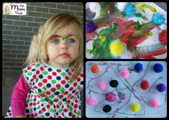 Arts and Crafts Benefit - art collage toddler