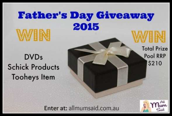 Father's Day Giveaway 2015 | All Mum Said